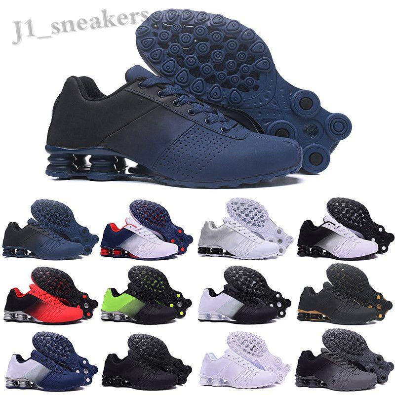 MAX SHOX 809 803 R4 Nueva llegada Entregar SHO 809 Negro de zapatillas blancas triples para los hombres Rosa Gris Negro ENTREGAR OZ NZ para hombre de moda Formadores UP05
