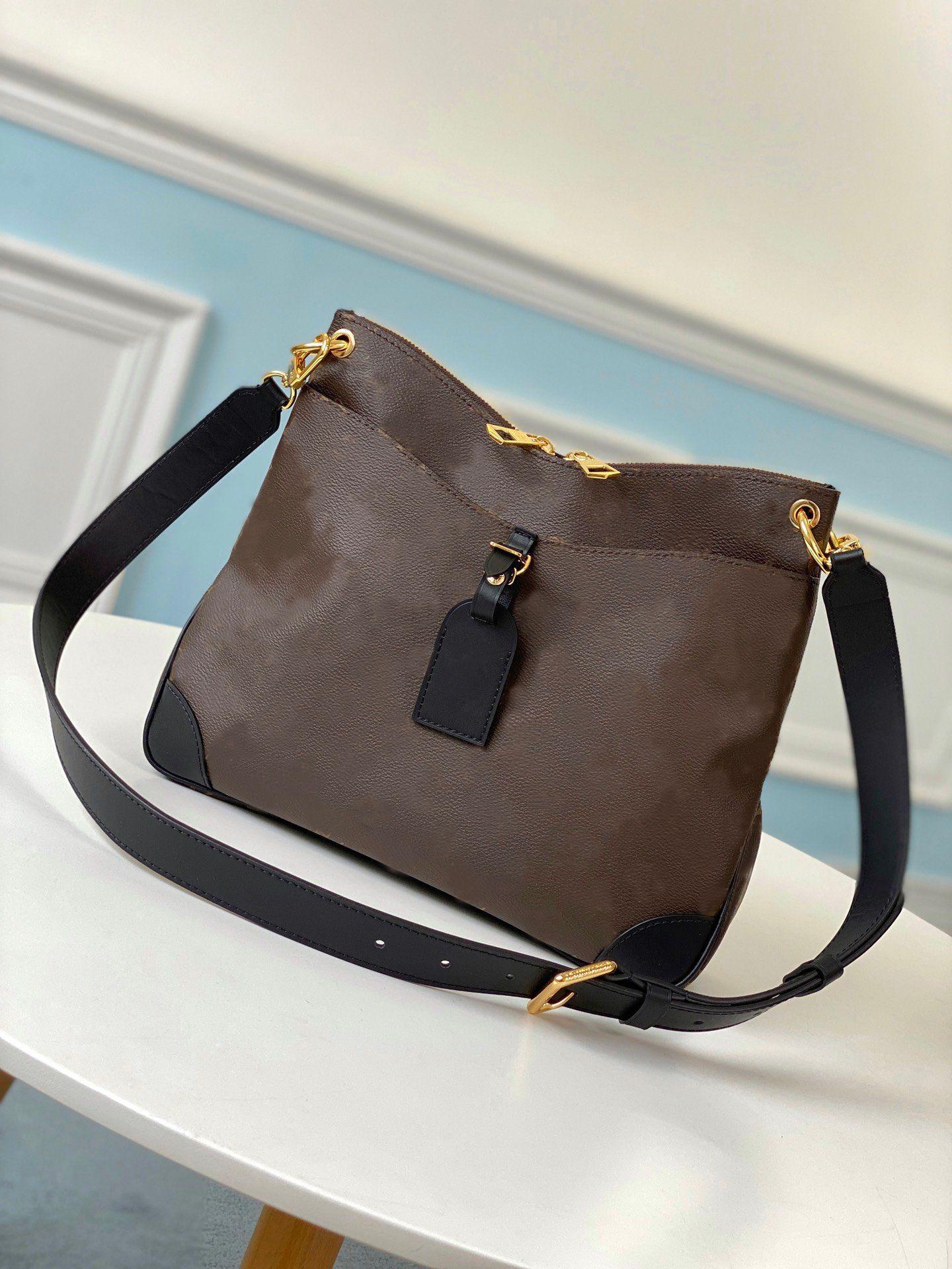 Monedero 2021 M45353 Messenger Designers Bag Bolsos de lujo Bolsas de hombro Cuero Crossbody Moda Bolso de moda Mujeres Odeon Bolsos Totes Wallet M45355 UGHH