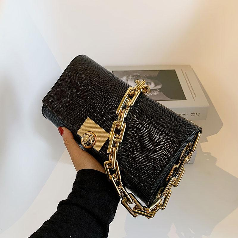 HBP Purse Handbag Wallet Crossbody bag Thick chain designers personality fashion Women Bags quality handbags Underarm bag
