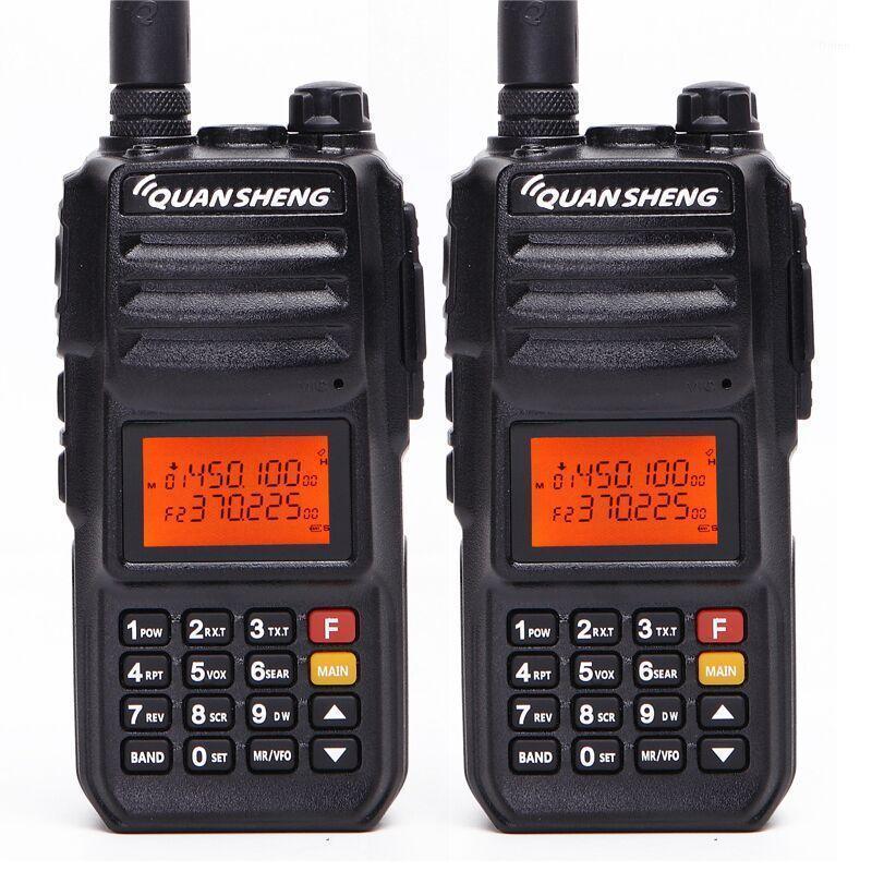 2PCS Quansheng TG-UV2 PLUS High Power 10W 5 Bands 136-174MHz/ 350-390MH/400-470MHz 4000mAh 10KM Range 200CH Walkie Talkie1