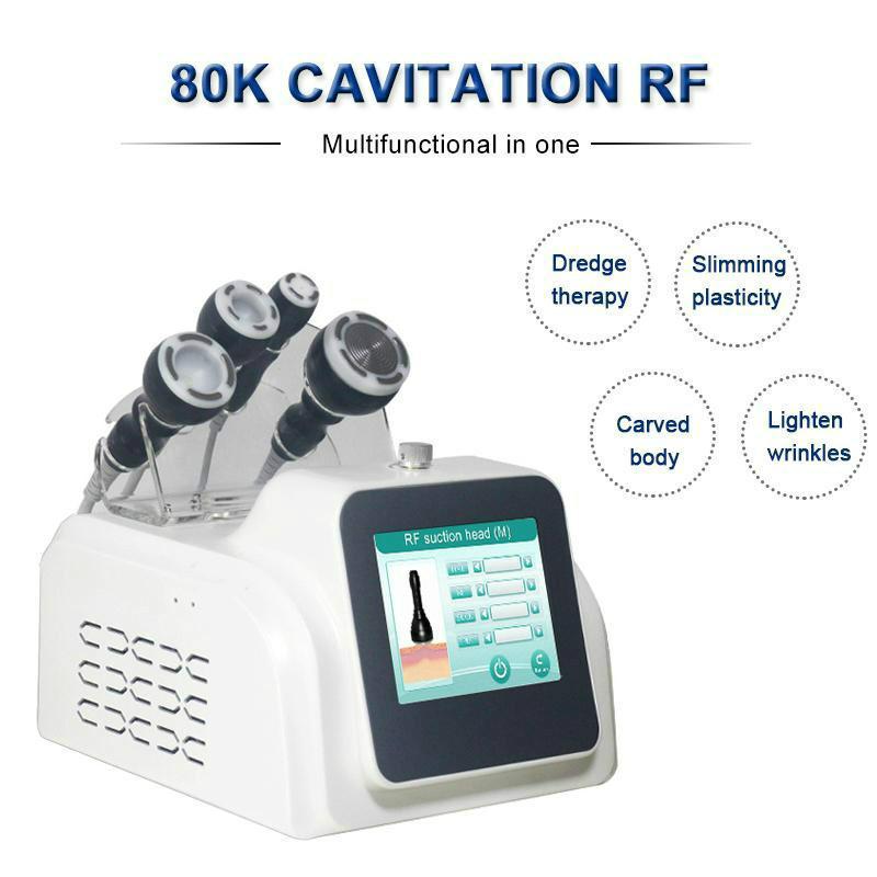 80k кавитационная вакуумная машина для похудения РЧ-корпус для похудения Массажер ультразвуковой липосакции кожи омоложение вакуумный радиомашина для похудения