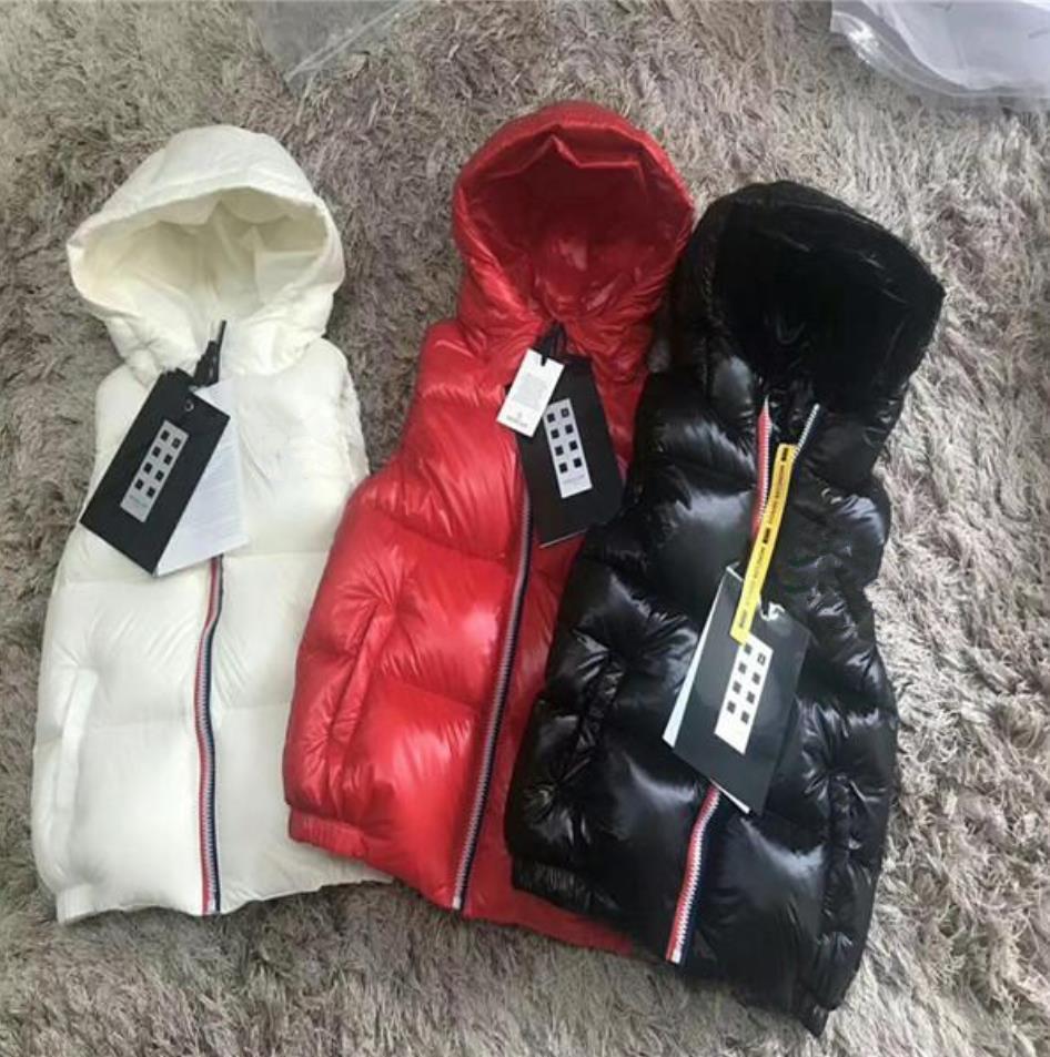 Herbst Winter Mädchen Casual Weste Jacke Kinder Oberbekleidung Mäntel für Jungen Weste Säuglingsbaby Daunenweste Sleeveless Kinder Warme Jacke