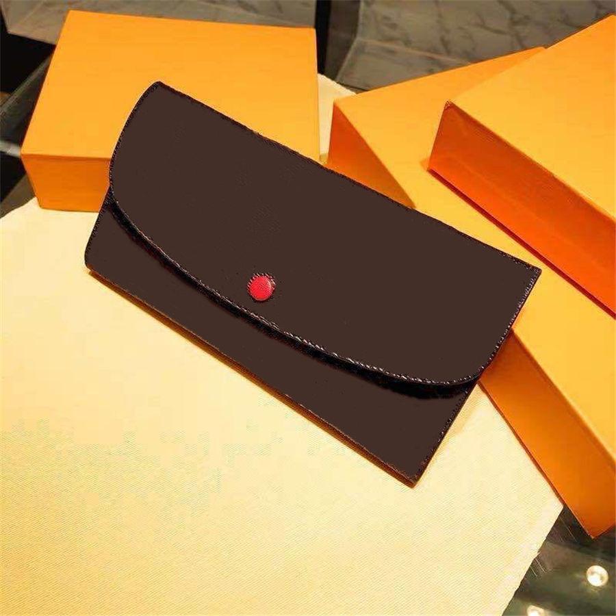 2020 بالجملة بطاقة الائتمان محفظة طويلة محفظة سيدة متعدد الألوان عملة محفظة مقعد سيدة الكلاسيكية سستة جيب مخلب