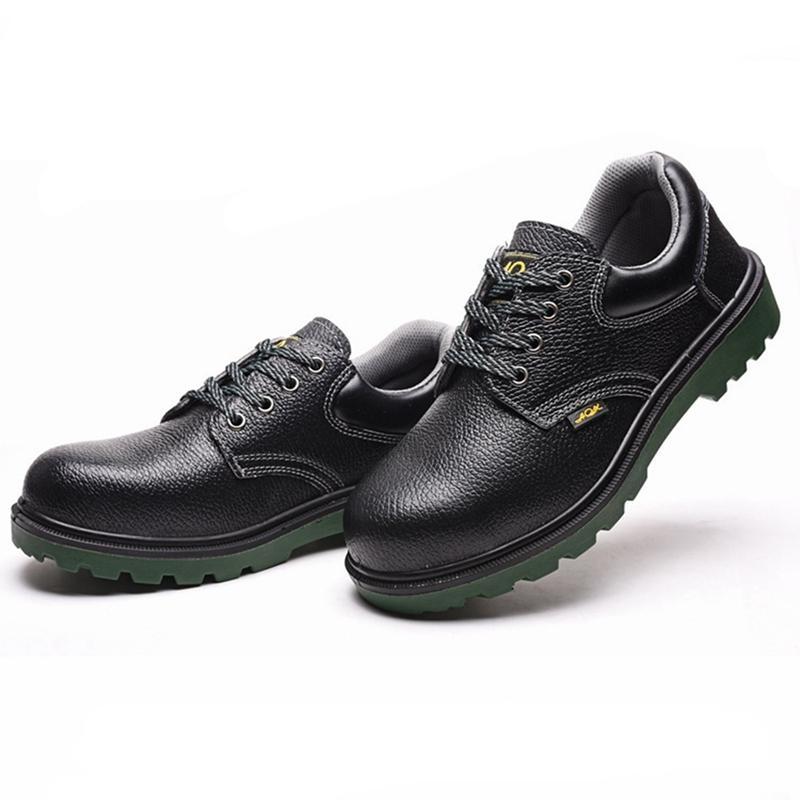 Работа Безопасность Обувь Женщина и Мужчины Обязательны Открытый Стальной Ног против Разбивки Защитные Противоскользящие Проконные Защитные Обувь 201223