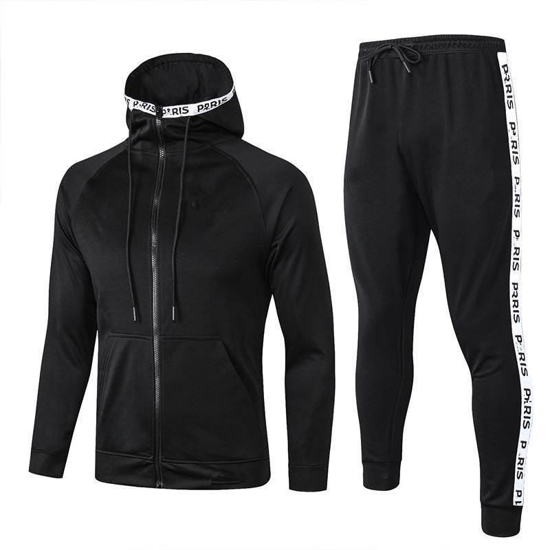 TOP quality 2018 2019 Paris Champions jacket training suit Survetement 18 19 MBAPPE POGBA football long zipper tracksuit