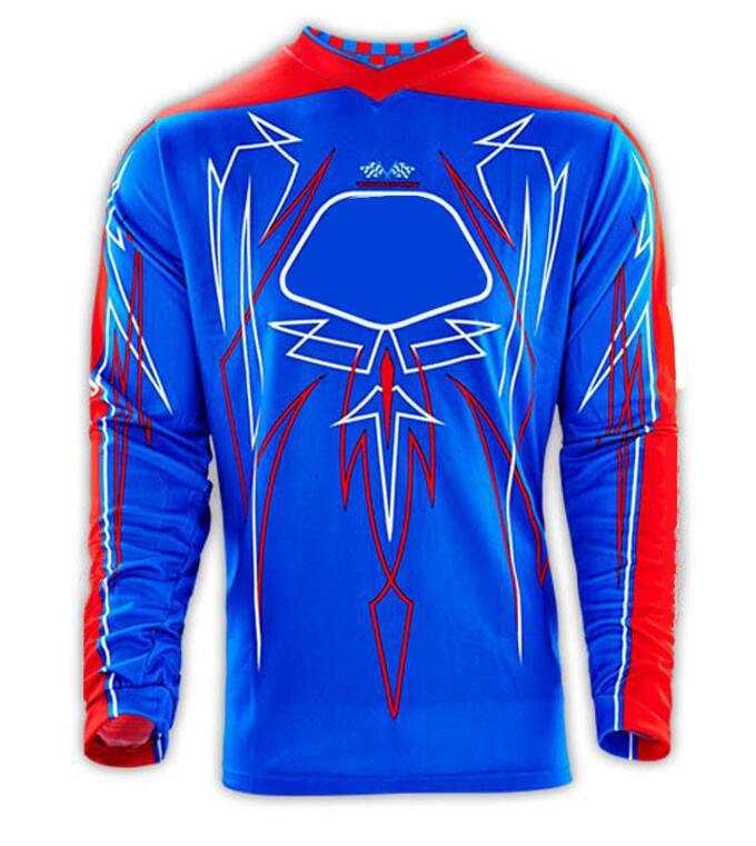 Motocross yokuş aşağı dağ bisikleti üst erkek uzun kollu yaz kros motosiklet yarış takım elbise t-shirt downhill jersey
