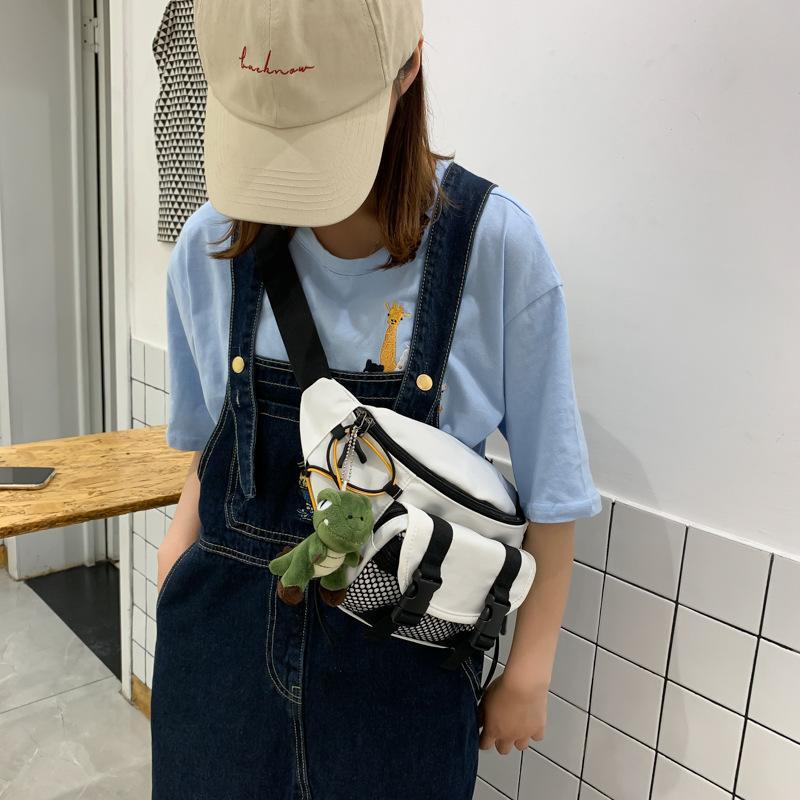 2020 Girl Cute Vita Bag Fashion Mens con Bumbag QS Bel Banane Cross Body Donne SAC per giocattolo Donna QTJKB