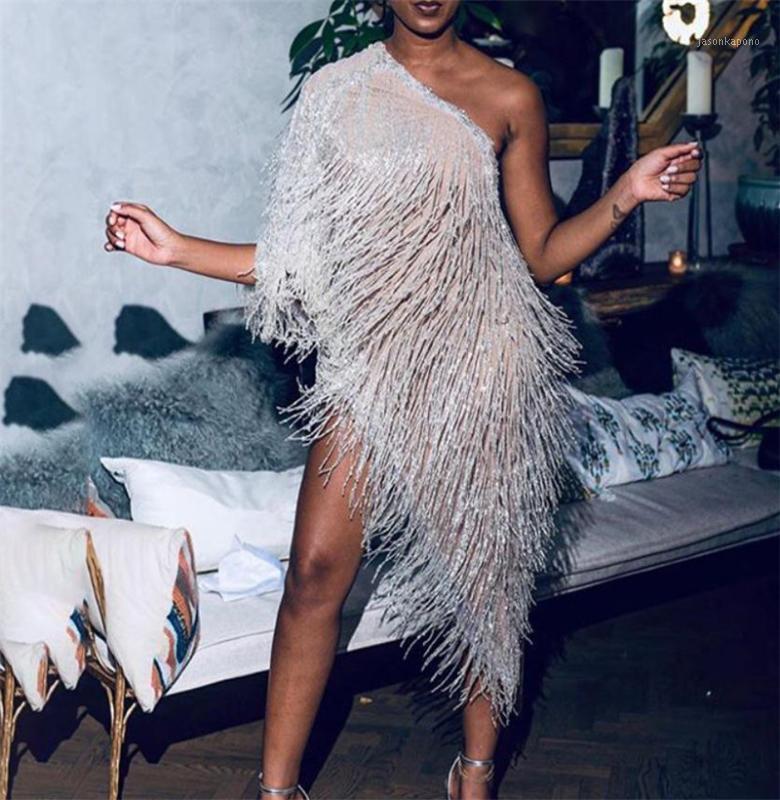 Женская шаль-халт Wrap Sexy Dress Blittering Tassel Tementement Elegant с плеча ужин платье мыс пальто Shawl1