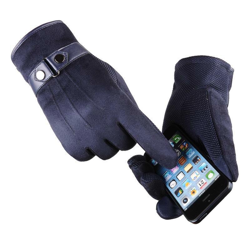 جودة عالية للجنسين الصوف يندبروف قفازات الشتاء قفازات شاشة تعمل باللمس للهواتف الذكية الطقس البارد للماء / يندبروف