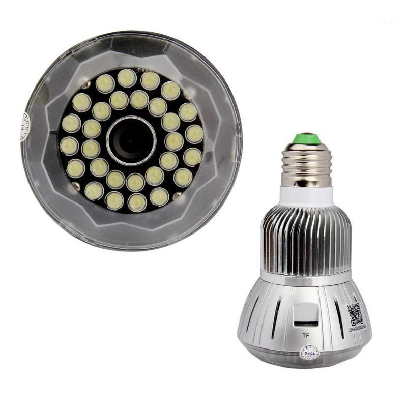 Sıcak Satmak HD 1080 P Geniş Açı Ev Güvenlik CCTV Lambası IP Kamera Wi-Fi Kayıt Video ve Mini Kablosuz IP Cam Ampul Ile Ses ve Ses DVR1