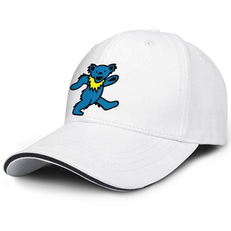 Fashion Baseball Cap grateful dead bear blue Adjustable Ball Hat Cool Personalized Trucker Cricket tropical dancing Grateful Dead LBTS