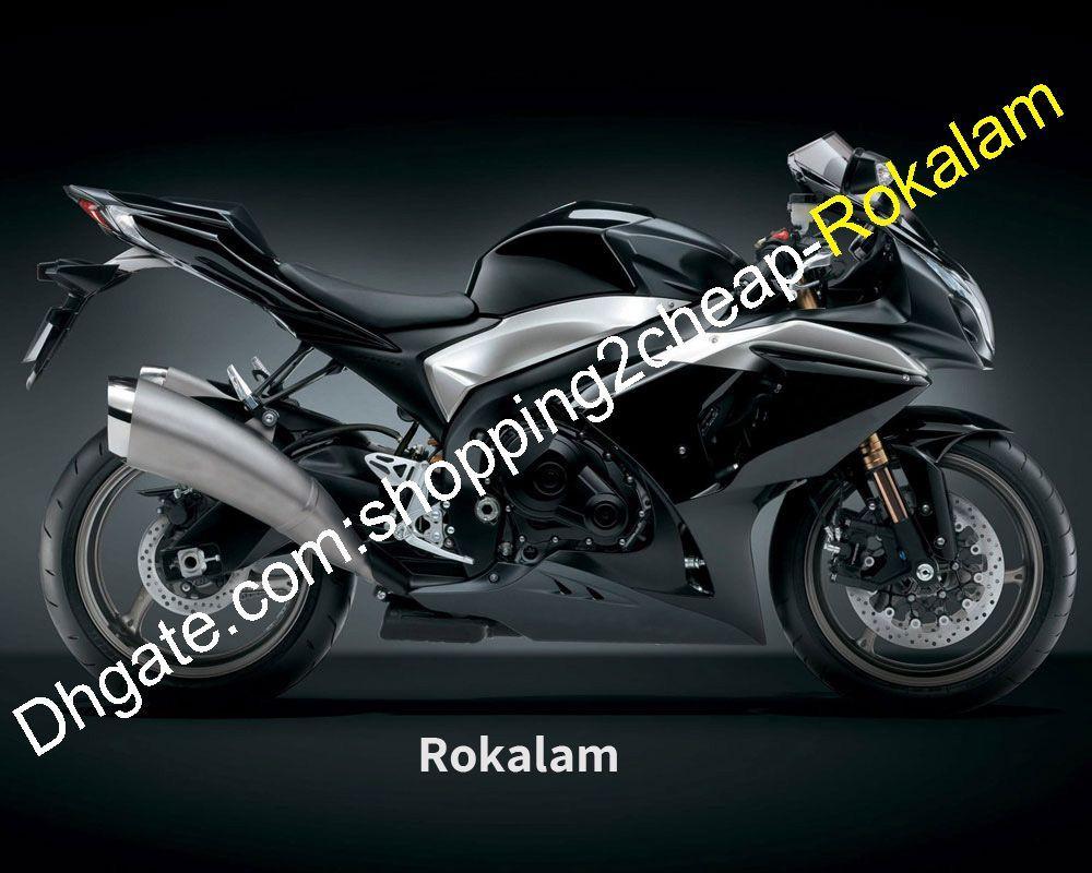 Para Suzuki GSXR1000 09 10 11 12 13 14 15 16 GSX-R1000 GSX R1000 2009-2016 GSXR 1000 K9 Black carenado (moldeo por inyección)
