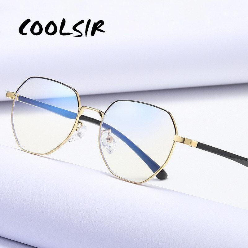 Computer Glasses Anti Blue Light Blocking Filter Riduce Digital Eye Strain Clear Regular Gaming Goggles Eyewear