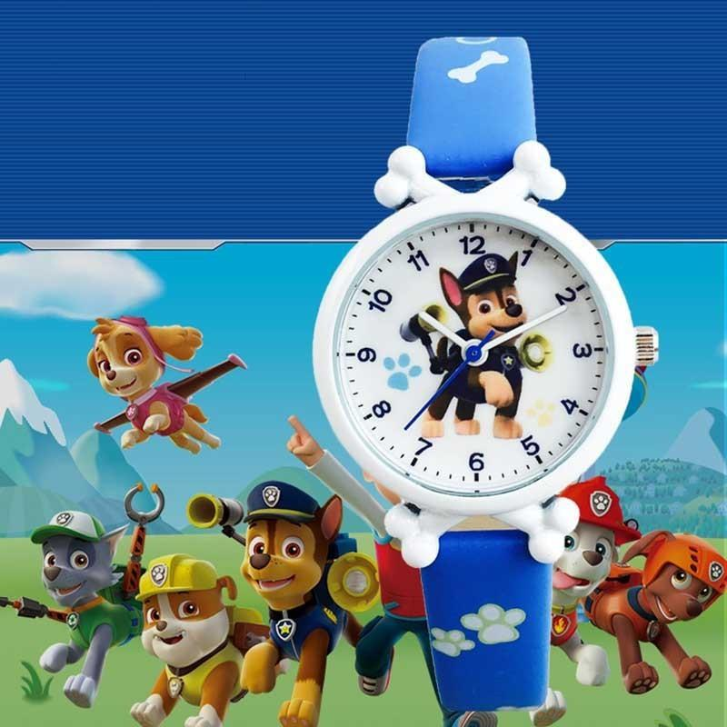 Cq99 Uthai Boys, Waterproof Electronic Watches, Quartz Watches for Boys and Girls, Primary School Animal Patterns
