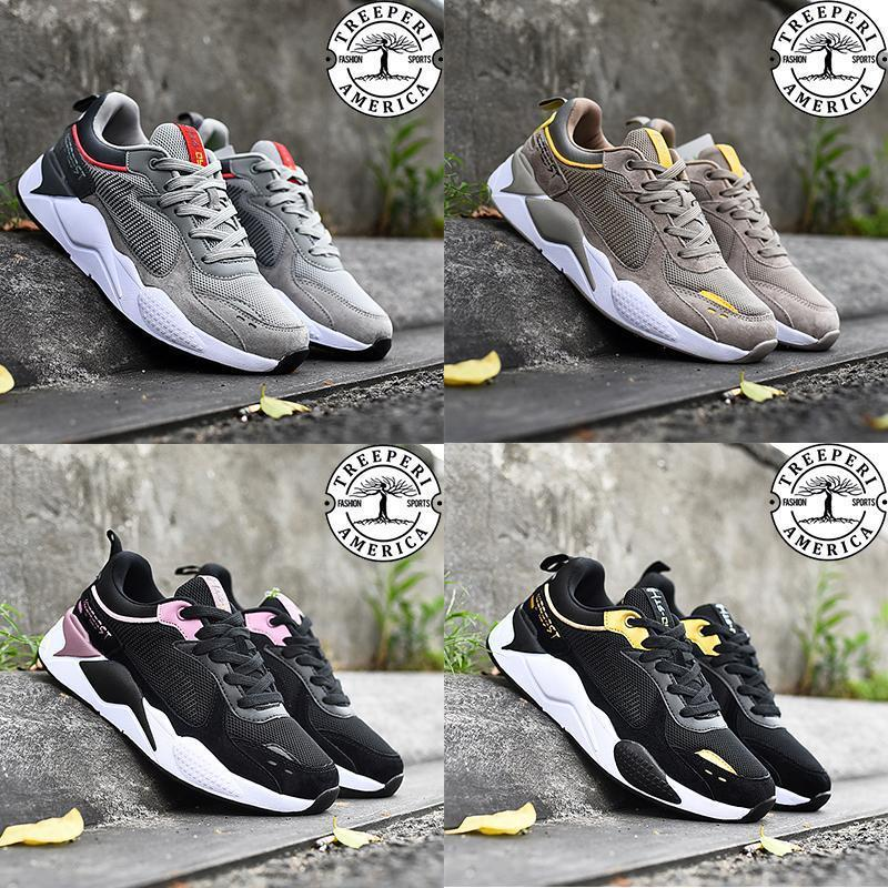 2020 Nuovo arrivo Treeperi Fashion Chunky 2.0 Scarpe casual Casual Black Metallic Gold Grigio Grigio Crimson Khaki Yellow Men Donne Designer Sneakers