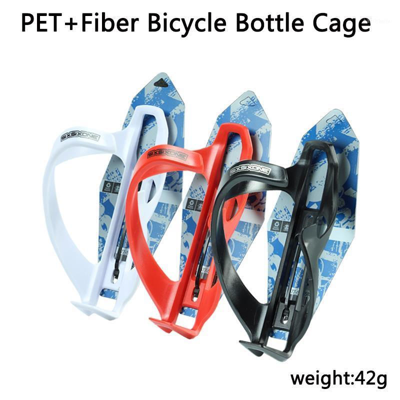 Bicycle Bottle Gabbie Ultralight Pet + Fibra Materiale 42G MTB Road Bike Bottle Portabicchieri Accessori per biciclette Bike Gage Holder1