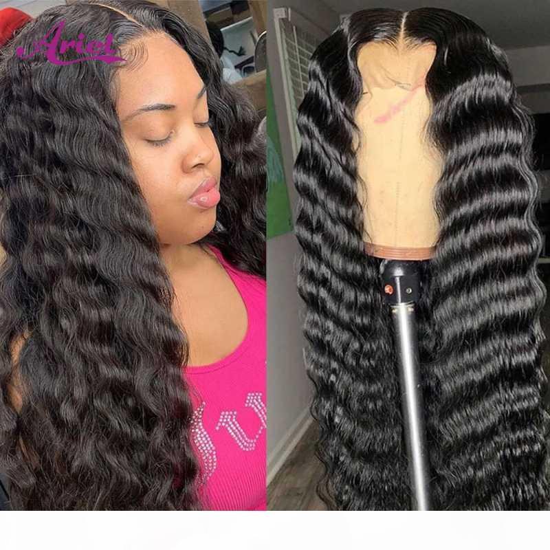 Perruques transparentes de dentelle transparentes de la dentelle transparente pour femmes en dentelle frontale perruque Remy Malaisien perruque frontale profonde perruque de cheveux humains