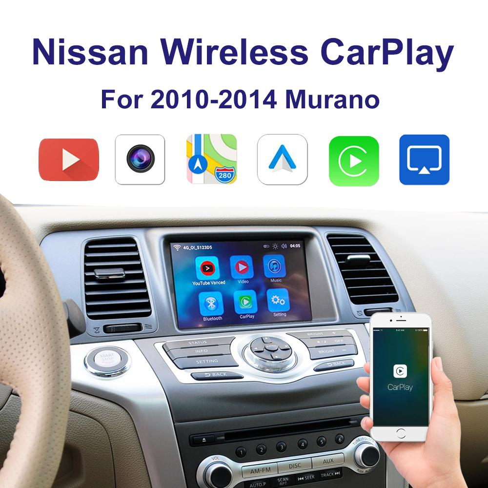 2013-2018 닛산 Armada 멀티미디어 아이폰 안 드 로이드 무선 카라이얼 키트를위한 자동차 무선 CarplayAndroid 자동 어댑터 인터페이스