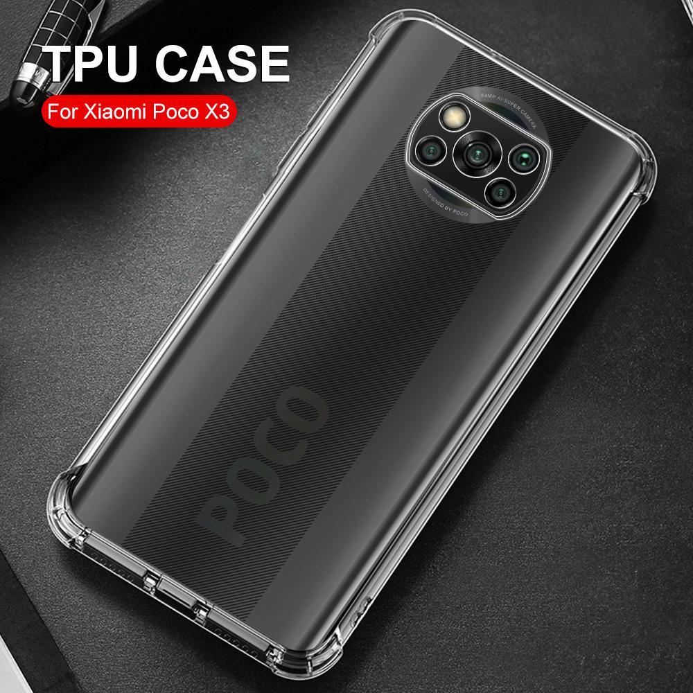Luxury Shockproof Silicone Phone Cases For Xiaomi Mi A3 9 se Lite 9T Pro CC9 CC9E Case Fundas Transparent Protective Back Cover