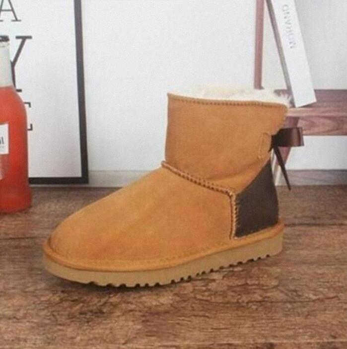 2021 Brand New Hot Australia WGG Classico Donne Alte Stivali invernali Ragazze Bambini Baby Bowknot Womens Snow Boot Scarpe H1SD #