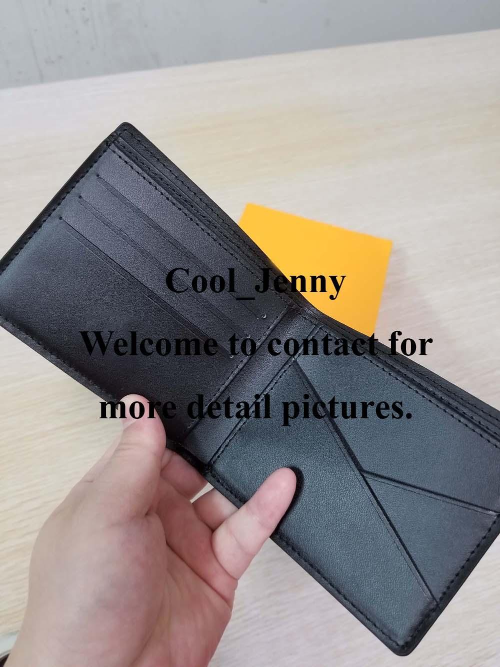 Marco Portafoglio Un modo elegante per portare avanti le carte, contanti e monete facili in qualsiasi borsa da tasca in pelle di alta qualità