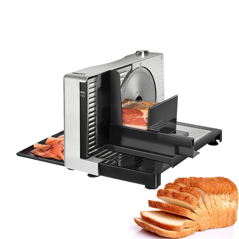 Fleischschleifer slicer elektrische halbautomatische Frucht- und Gemüsefamilie mini faltbare Spannung 100V ~ 120V oder 220V ~ 240V