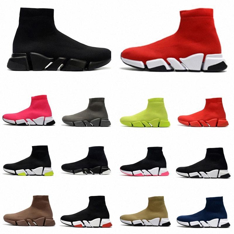 2021 الرجال نساء سرعة 2.0 جورب أحذية مدرب مصممون أحذية رياضية سرعة المدرب نمط جديد سباق الأحذية رياضة الجوارب المدربين 36-45 A2 #