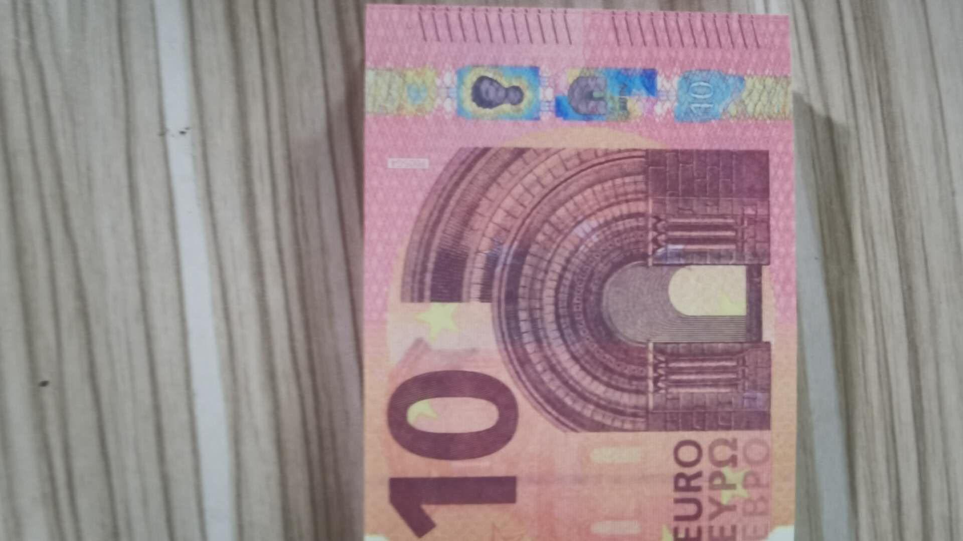 meilleur billet d'argent de faux billets de banque de la qualité du papier des billets prop Film 10 20 50 euro monnaie partie faux enfants argent cadeau jouet banknote163