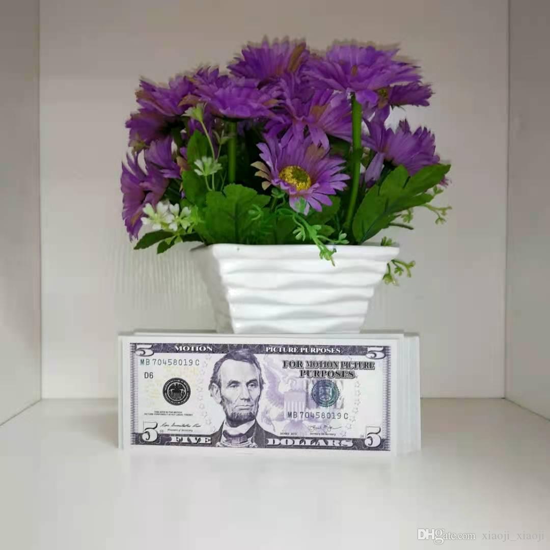 Film Prop Copier fausse argent adulte papier spécial Dollars USD Stage Enfants Jeu de monnaie Prop Prop Bar Prop Toys-B1 Ughgg