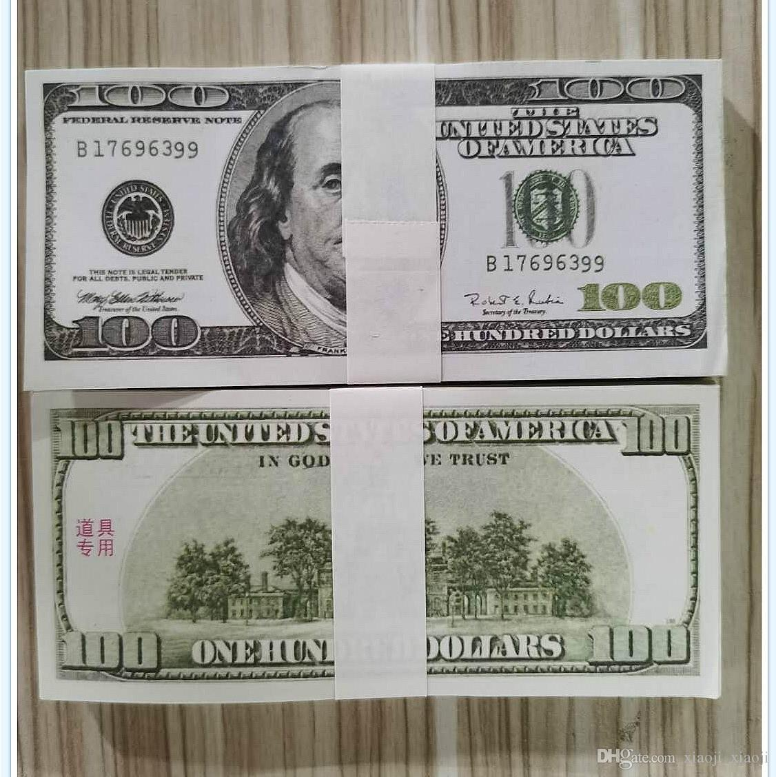 Beste Bar Requisiten von Großbritannien gefälschten Dollars und Banknoten Geldspielzeug Fernseher und Schießen Film Practice Simulation Qualität Banknoten 03 Urhus