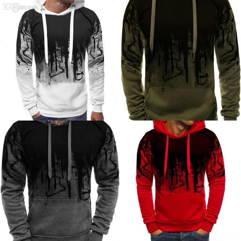 2rPy6 Mens sweater 3D printing pant man Sleeve Splash creative ink Designers Sweaters LUXE Letters Pullover Men Hoodie Long Womens Active sw