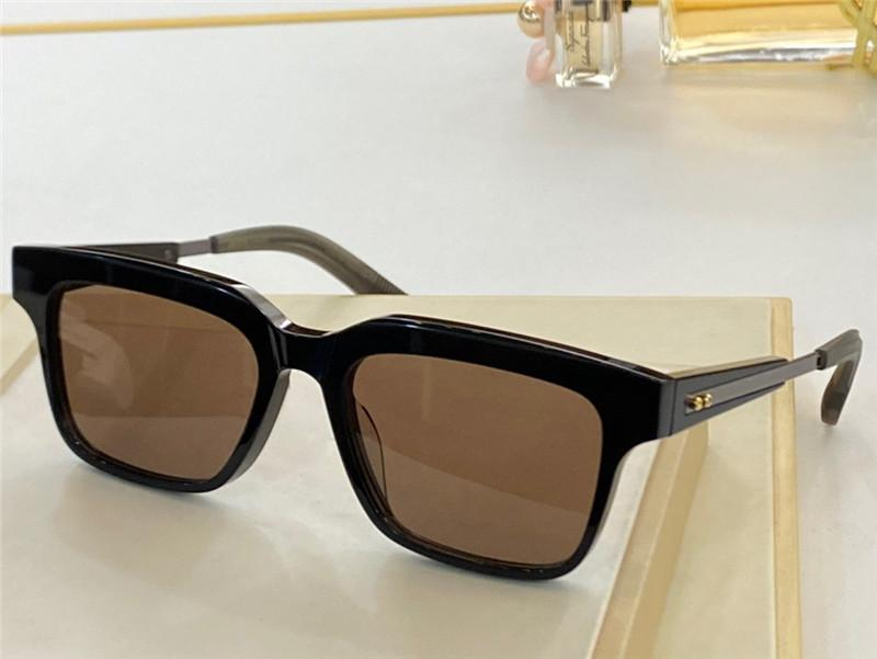 DLX702 Advanced New Sunglasses Men Metal Retro Titanium Unisex Sunglasses Fashion Style Plate Frame UV 400 Mirror Top With advanced Box