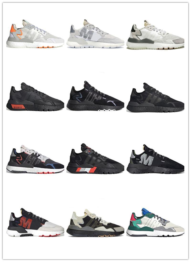 Chaussures de course Tennis respirant Joggers Black White Sneakers Sport Taille 36-45 hommes et femmes chaussures de plein air