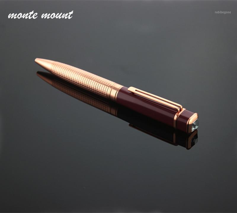 Monte Mount Diamond Ballpoint Pen Office Аксессуары Школьные принадлежности Материал Металлическая Ручка Шариковый Ролик Ball1