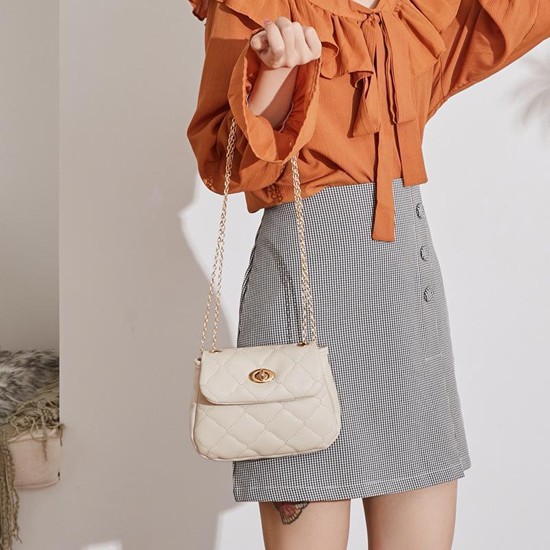 Mujeres Yun Cambiar cadena de hombro New Cross Handbag Bolso Coreano Ling 2021 Luxury Winter Small Pequeño para Lady Lnqiq