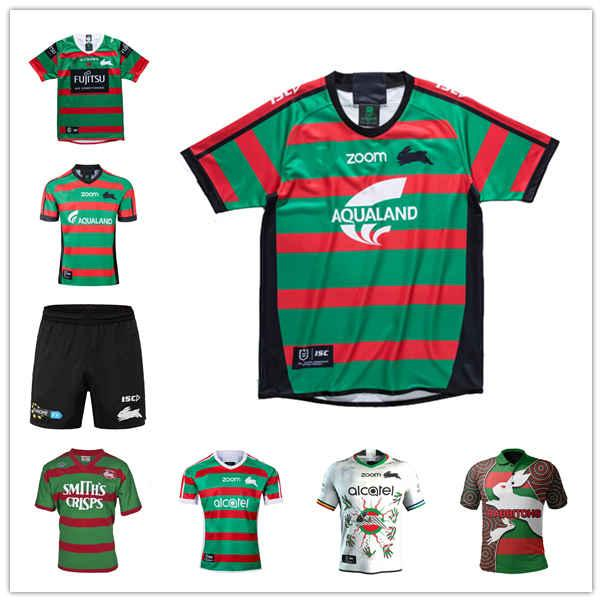Südsydney Rabbitohs Home Anzac Rugby Jersey Nrl League Jerseys Australien Maillot de SISE: S-5XL Polo Unifrom