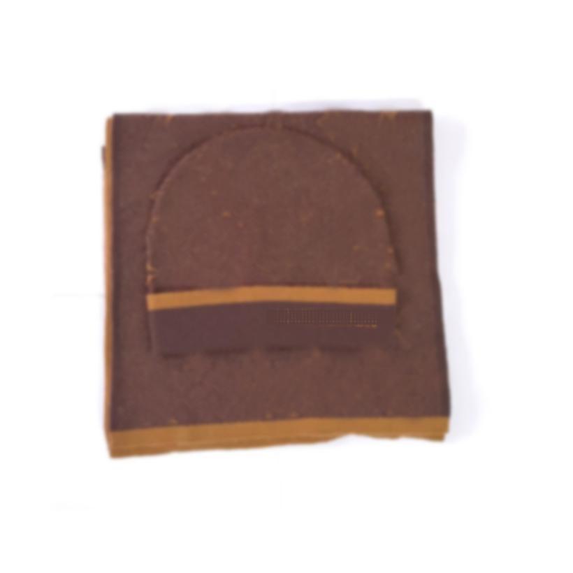 2021 Sciarpa di cappello di alta qualità Set per uomo Donne Donne Sciarpa in lana invernale 2 pezzi Design Scialle Scialle Beanie Wrap Sciarpa Berretti Berretti Cappelli Sciarpe