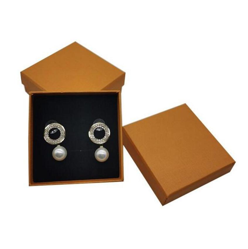 Small Orange Jewelry Box Gift Wrap Fashion Earrings Ring Necklace Storage Boxes Outdoor Portable Free DHL