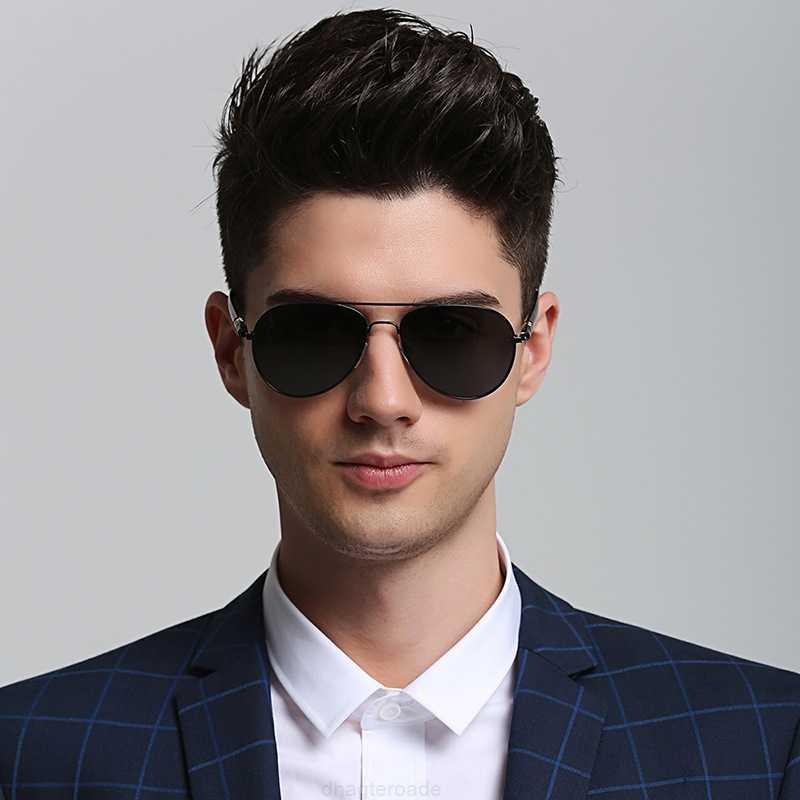 Mode-Kröte polarisierende Männerbrille 209 Sonnenbrillen