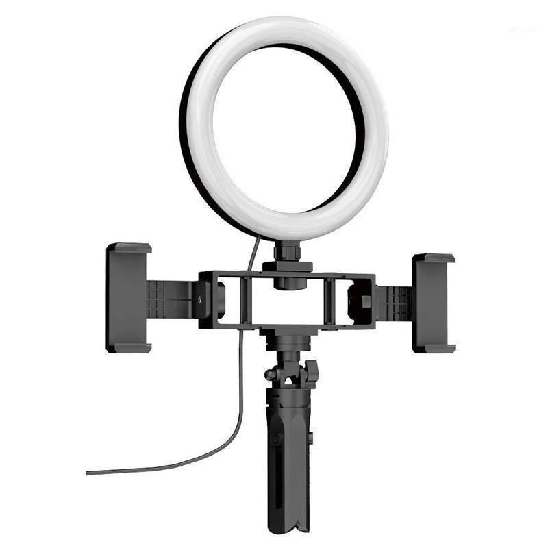 Flash Heads K316 Anel Fill Light Tripod Stand Dimmable Telefone Móvel Selfie Video Makeup Lamp1