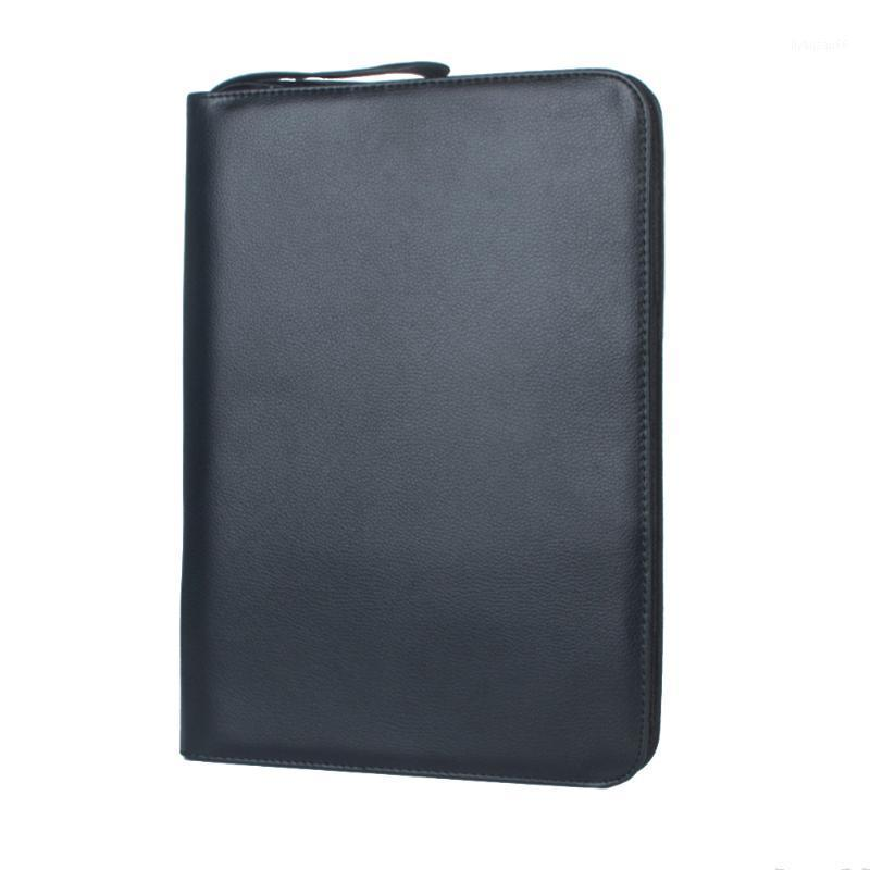 Mode tragbare Halter Stift Tasche Schule Geschenk Schreibwaren Solid Storage Case Brunnen Ärmel Pouch PU-Leder einfach für 48 Pens1