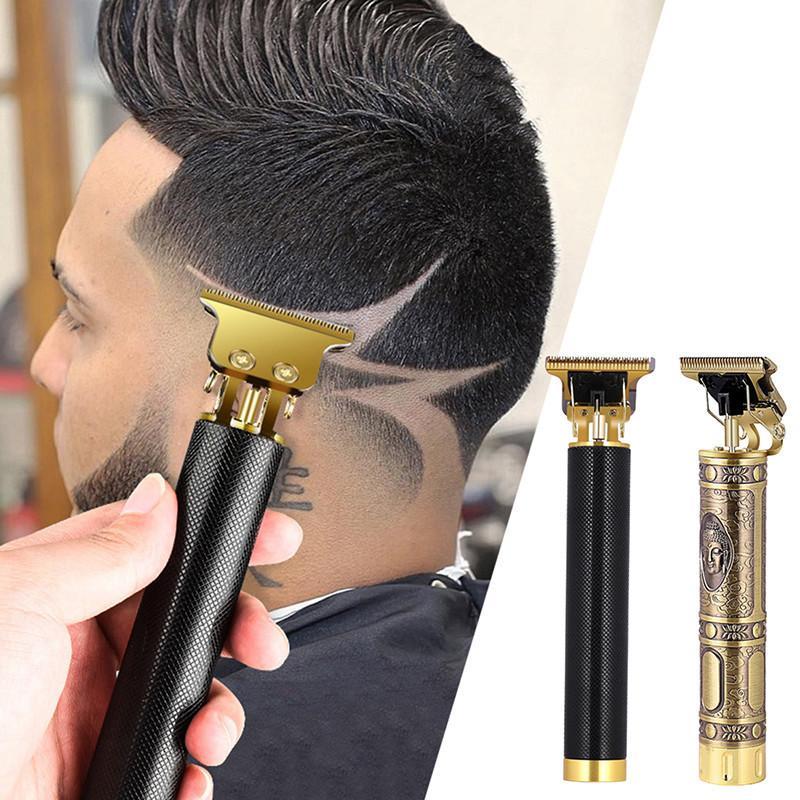 Cortadora de cabello para hombre Clipper Profesional Cutter Cutter Beard Barba de afeitar Acabado de precisión Máquina de corte para el cabello P1204