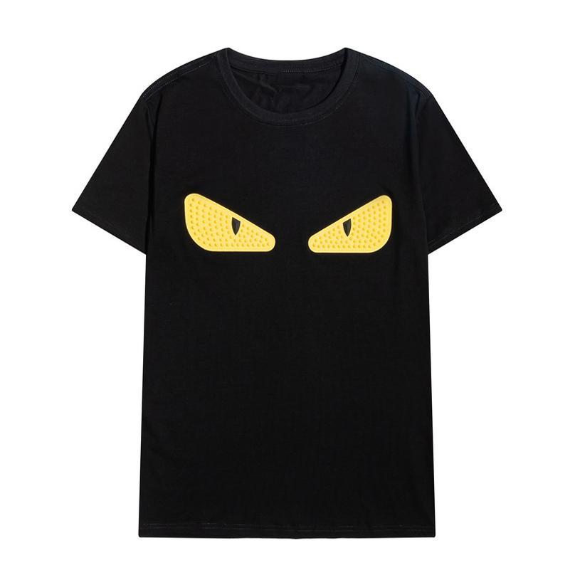 Moda Erkek Tasarımcı T Shirt Mektup Nakış T Gömlek Erkekler Giyim Kısa Kollu Rahat Erkekler Tees Tops