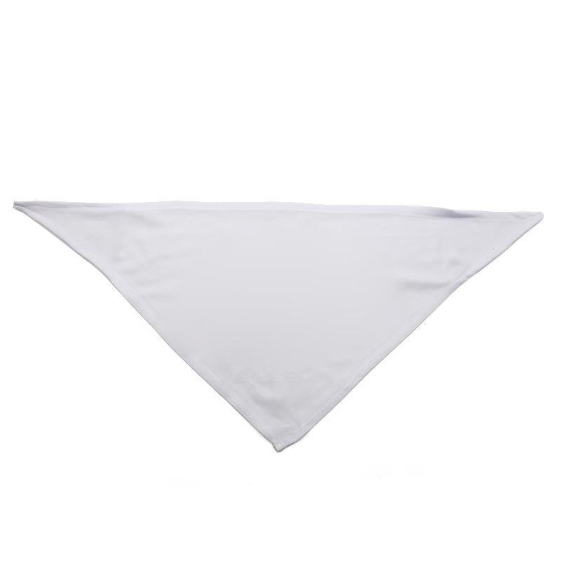 Diy Pet Burp Tissu Sublimation Blanc Blanc Triangle Col Foulard Dog Fournitures Digital Impression Numérique Bandana Mode Bardian 4 9Ex G2