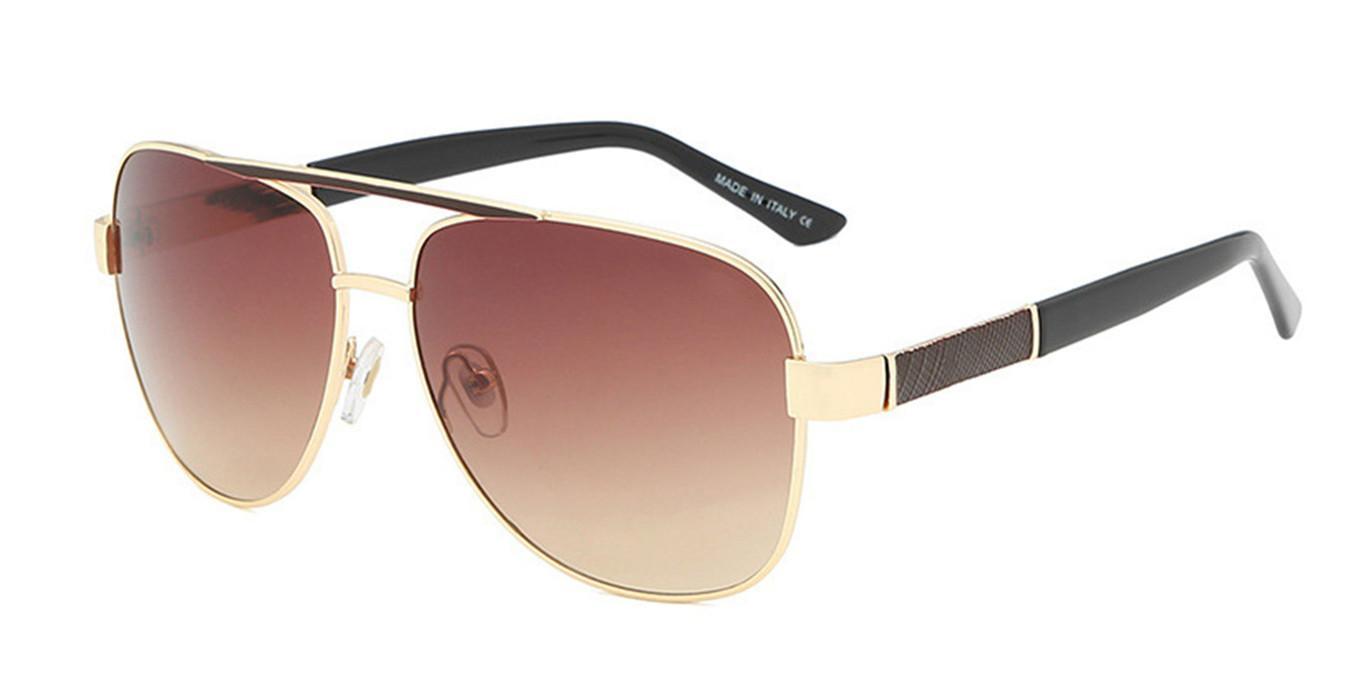 0808 novas chegadas Highend marca estilo clássico homens óculos de sol esporte óculos de sol com caixa de pacote de alta qualidade