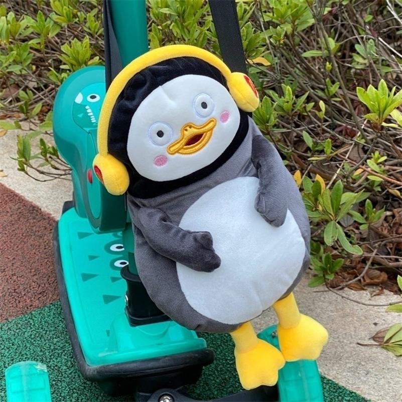 Pengsoo Penguin Zaino animale borsa peluche per bambini imballaggio di caramelle giocattolo libri bambini borsa scuola satchel moochila ragazze giocattoli 201119