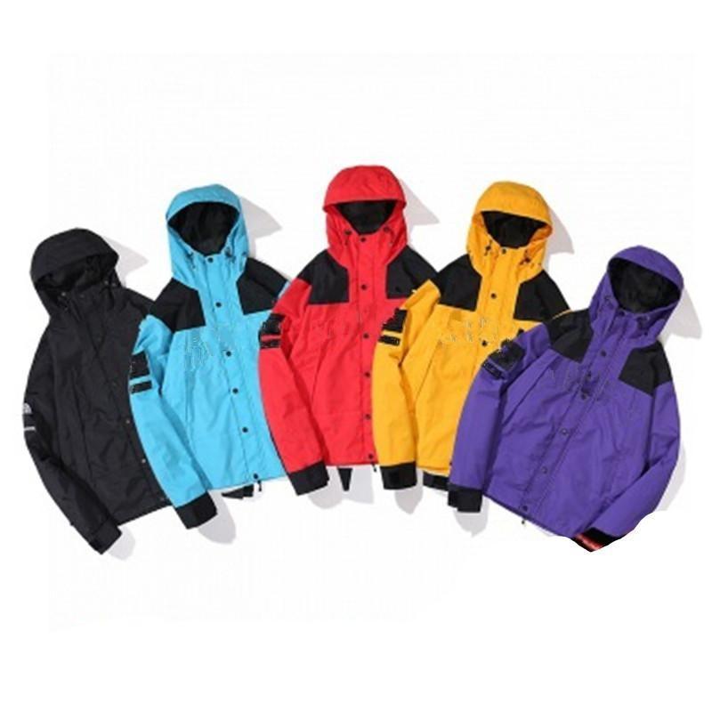 Moda Desen Erkek Ceketler Mektup Baskı Patchwork Güneş Kremi Ince Ceket Rüzgar Breake Erkekler Kadınlar Bahar Sonbahar Aşk Boyutu M-2XL