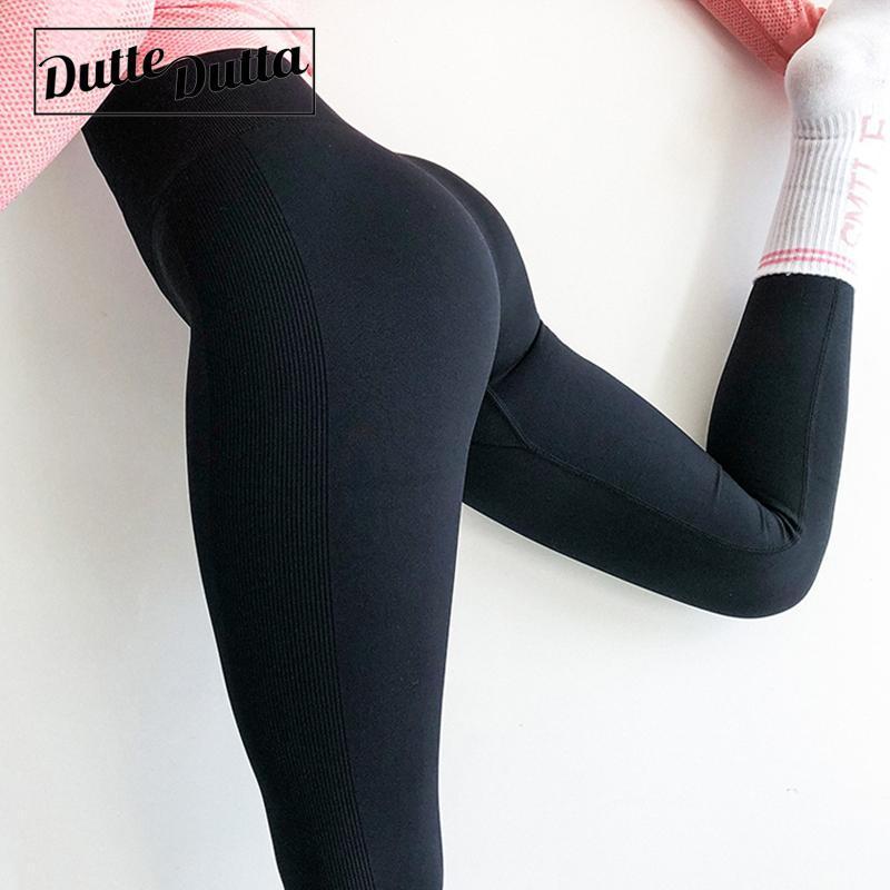 Trajes de yoga Pantalones sin fisuras Leggins Deporte Mujer Fitness Jogging Femme Gimnas Gimnas Gimnasia Ejecutar Cintura Alta Entrenamiento deportivo Ropa deportiva
