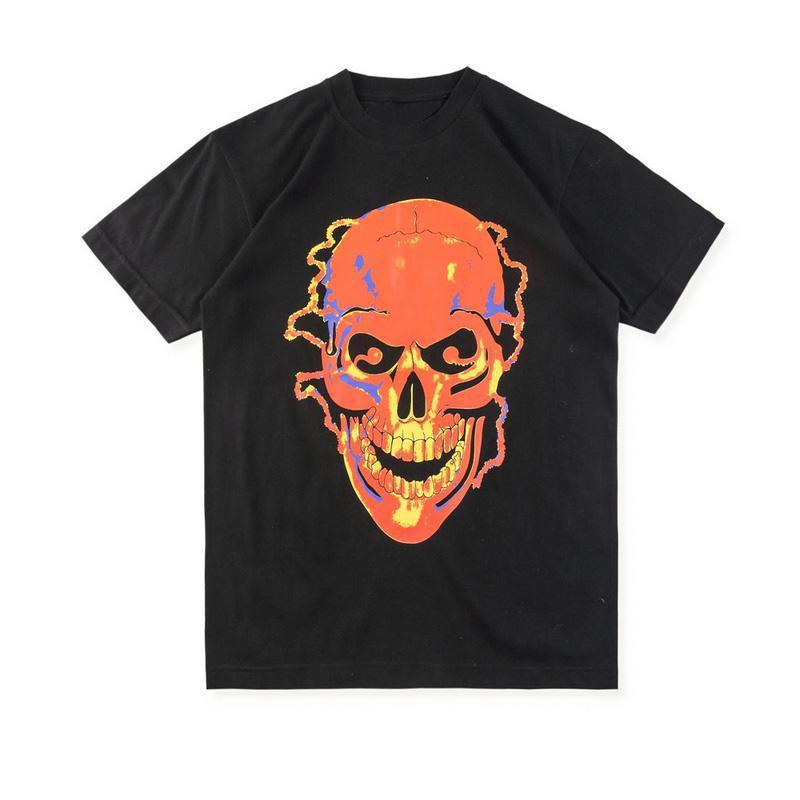 19SS T-shirt T-shirt Styliste Casual T-shirt Fashion Hip Hop Hommes Hommes Femmes Sleeve