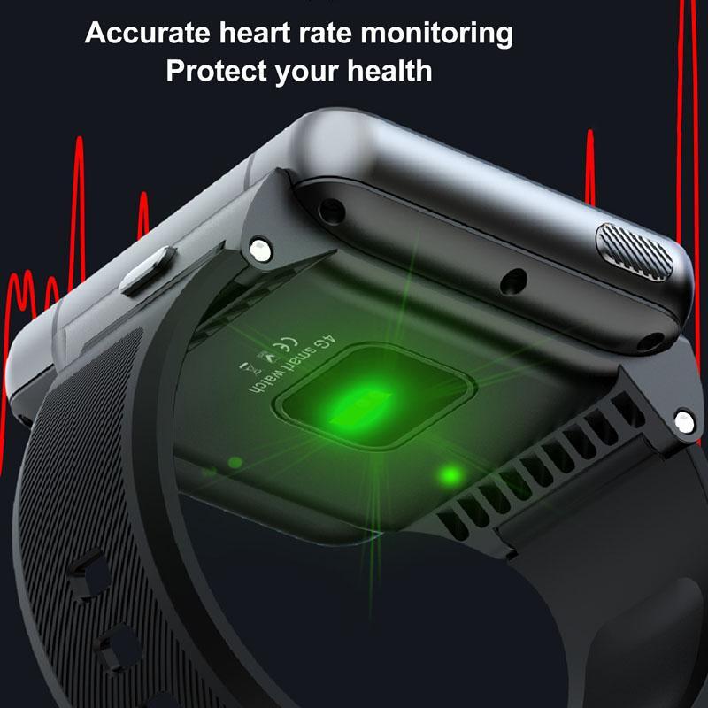Лучшие продажи 4G 2.88 дюймов Большой экран Android Smart Watch Телефон Человек Женщина 4 ГБ + 64 ГБ 13МП Камера 480 * 640 Bluetooth 5.0 SmartWatch